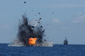 印尼炸毁1艘中国渔船