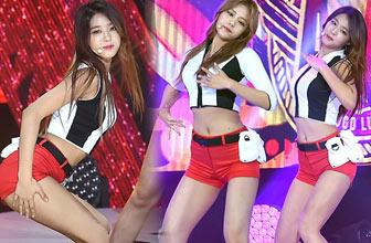 AOA超短裤上演19禁舞台
