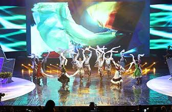 民族歌舞展现青海美!