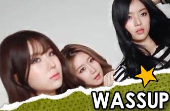韩女团WASSUP魅力十足