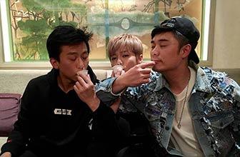 邓超陈赫和鹿晗一起喝交杯茶
