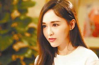 唐嫣刘海短发造型清纯