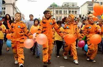 沃斯托克庆祝老虎日